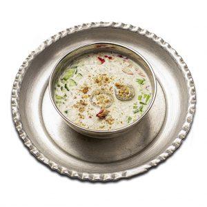 آب دوغ خیار رستوران هشتگ کیش
