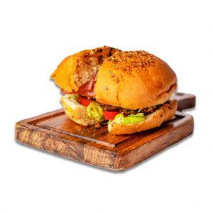 همبرگر تکس مکس رستوران هشتگ کیش