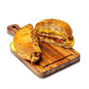 همبرگر چیکن فاهیتا رستوران هشتگ کیش